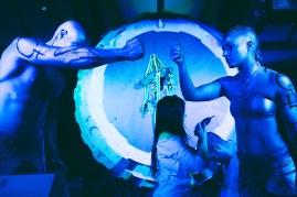Stefanie Elrick Loren Fetterman KAIROS performance art (2)