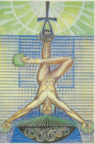 the-hanged-man-thoth-tarot stefanie elrick