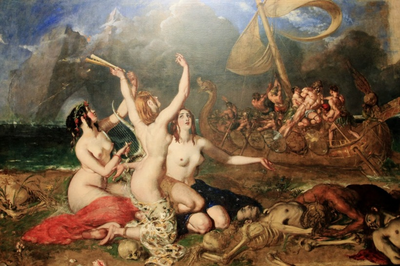 Etty, William, The Sirens and Ulysses 1837